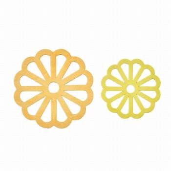 菊ウッドプレート